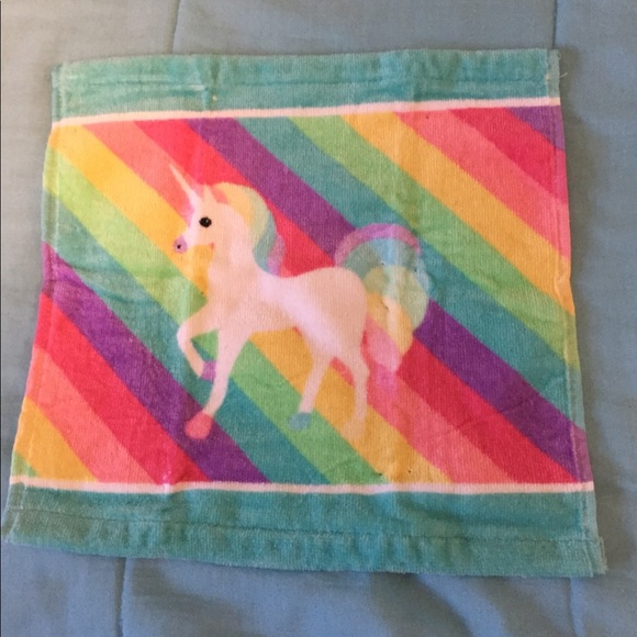Other - Unicorn Face Towel